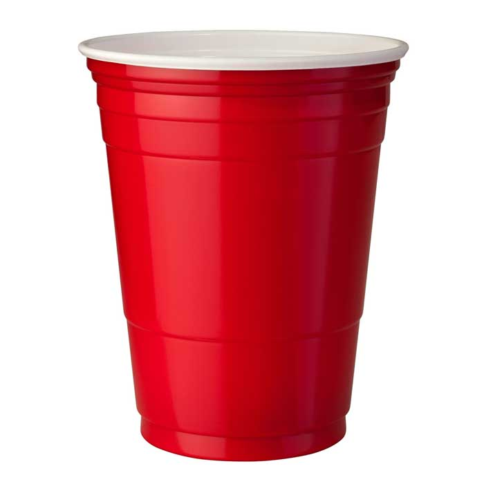 red cups roede kopper