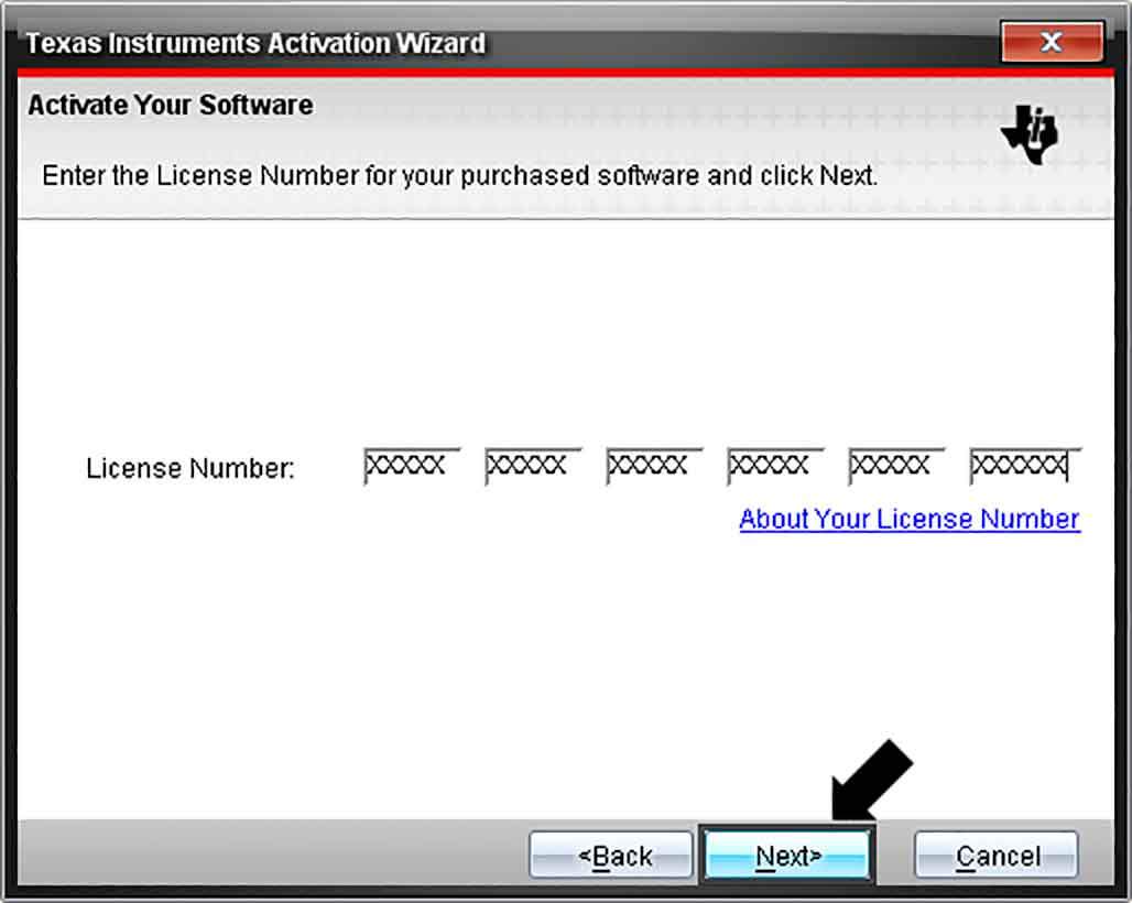 Ti nspire student software license number