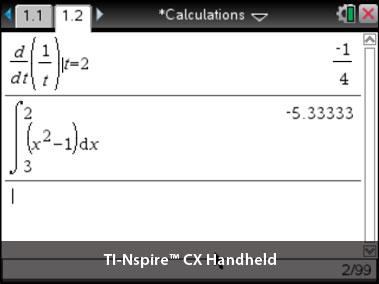 Hvad er CAS og forskellen på TI Nspire CX II-T og TI Nspire